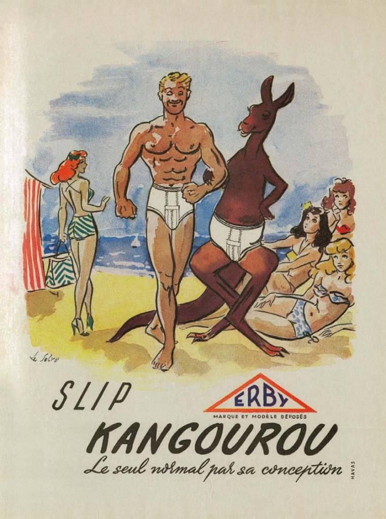 Slip Kangourou, 1948, L'Histoire des Sous-Vêtements Masculins, Shaun Cole