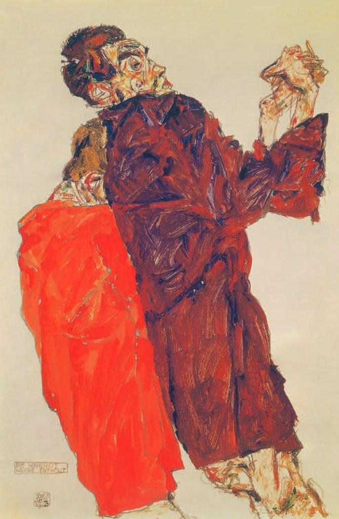 La Vérité dévoilée, 1913, Egon Schiele