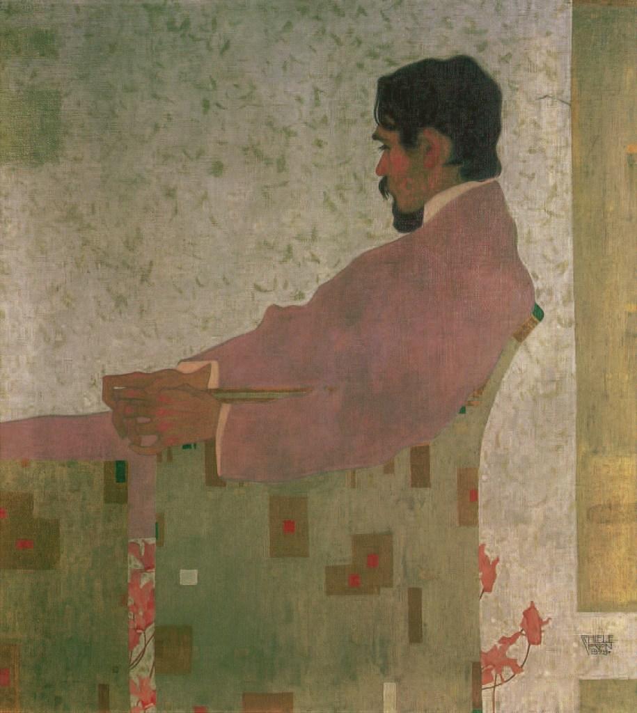 BILDNIS DES MALERS ANTON PESCHKA, 1909, Egon Schiele