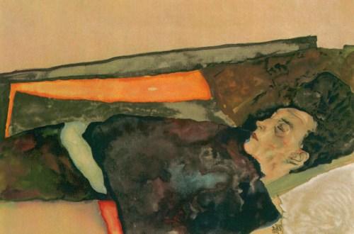 Die Mutter des Künstlers, schlafend, 1911, Egon Schiele