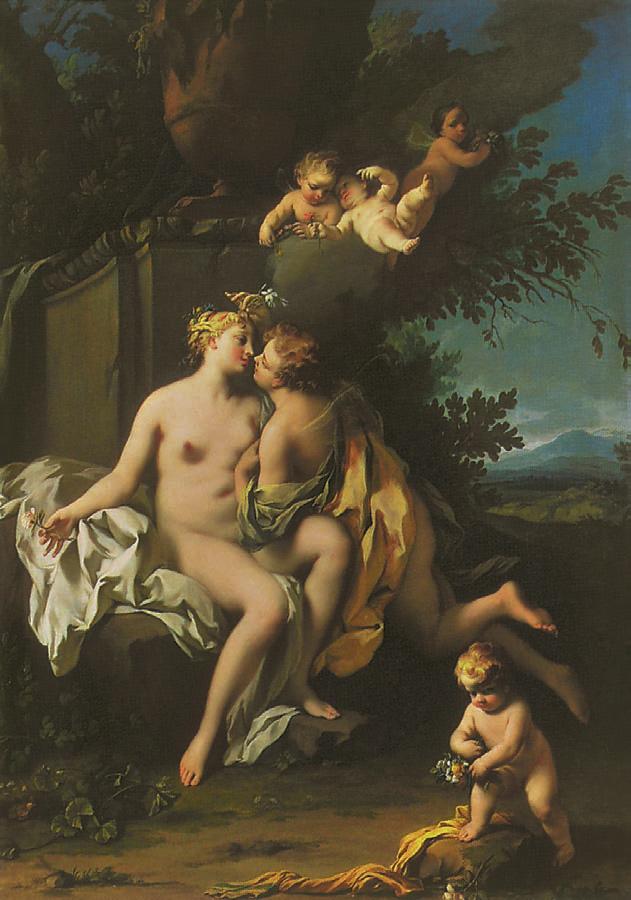 Flora and Zephyr, Jacopo Amigoni, 1748, Love, Jp. A. Calosse