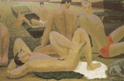 Duncan Grant, Le Bain, 1920, L'Homosexualité dans l'Art