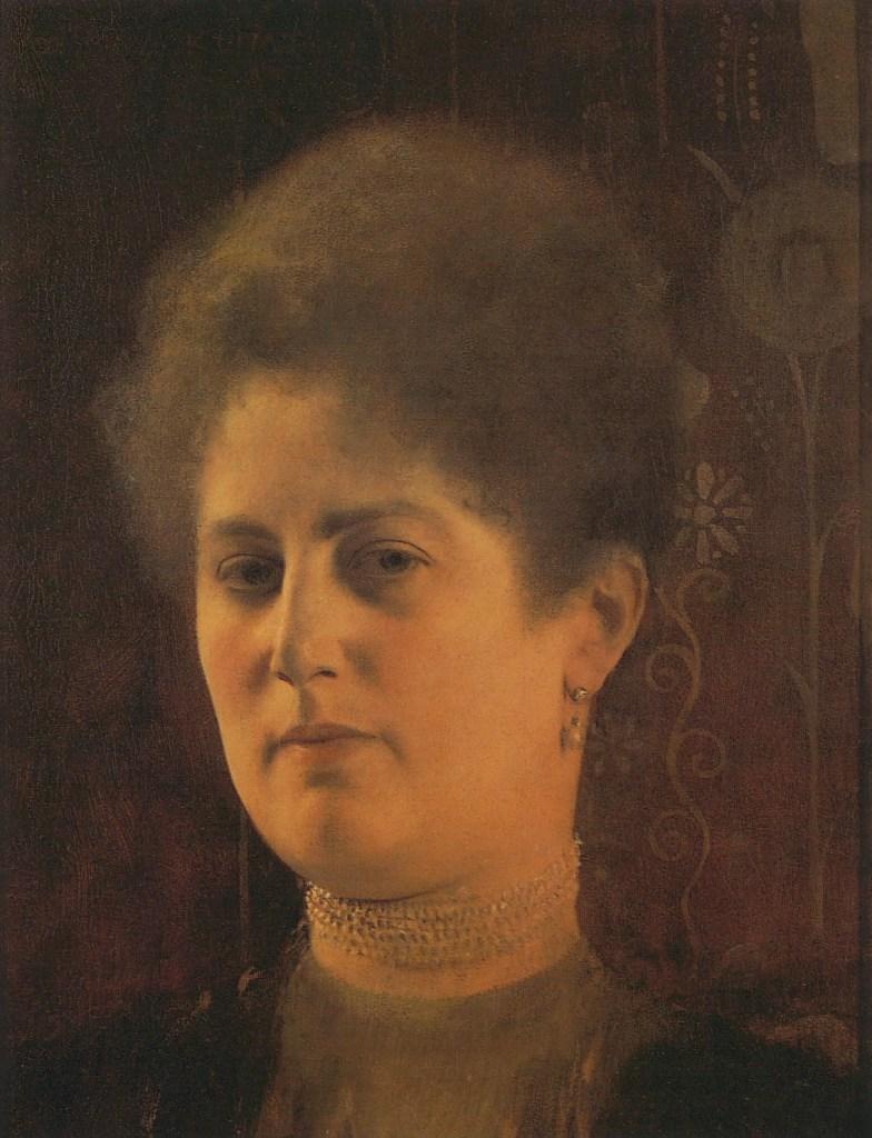 Frauenporträt (Frau Heymann?), um 1894, Gustav Klimt, Jane Rogoyska, Patrick Bade
