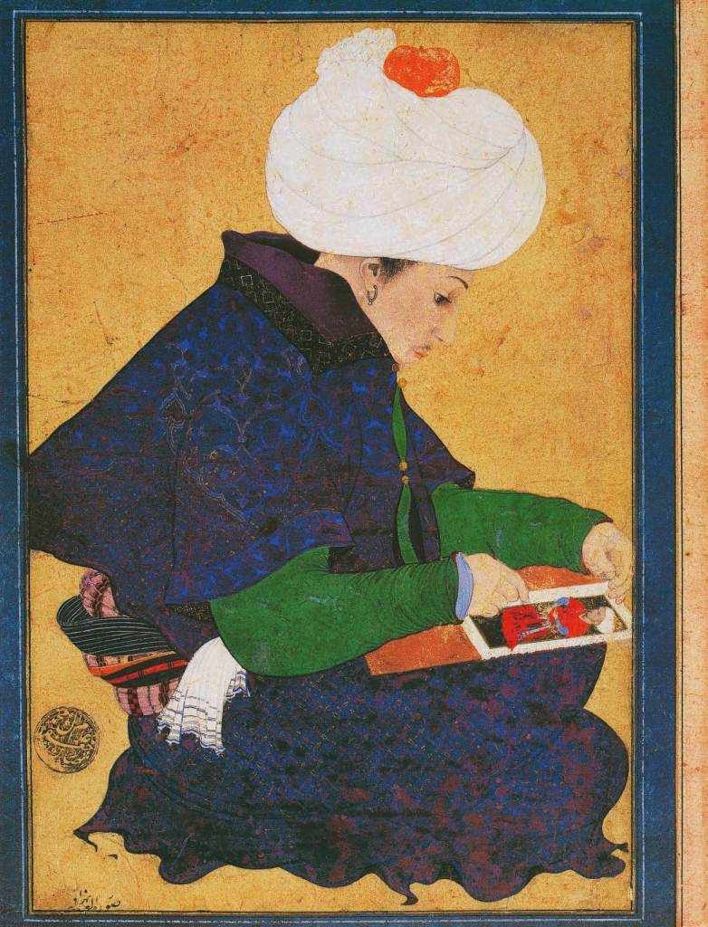 Portrait of a Painter, late 15th century, The Book of Wonder, Marco Polo