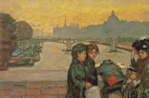 Pierre Bonnard, Pont du Carrousel in Paris, um 1903