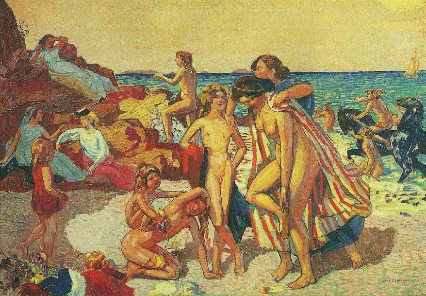 Maurice Denis, Bacchus and Ariadne, 1907