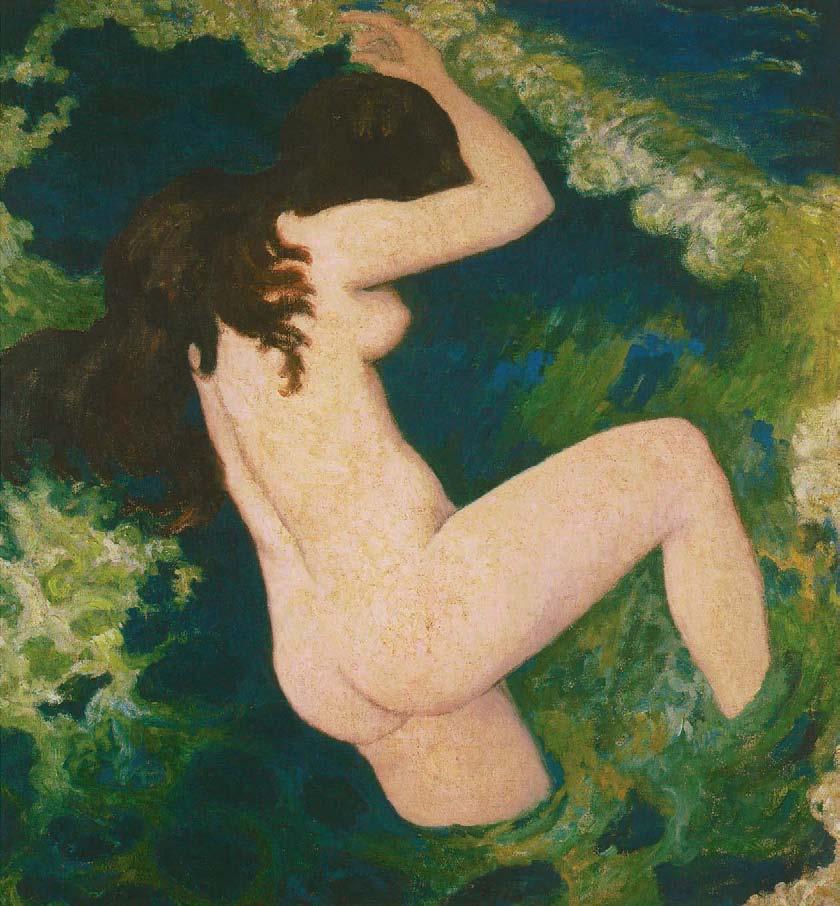 Aristide Maillol, The Wave, c. 1891, The Nabis, Albert Kostenevitch