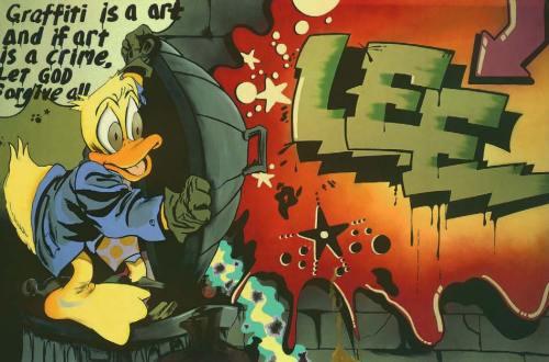 Howard the Duck, 1989, American Graffiti