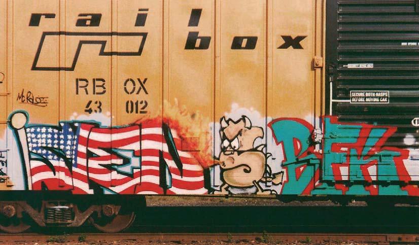 BFK, Datum unbekannt, American Graffiti, Margo Thompson
