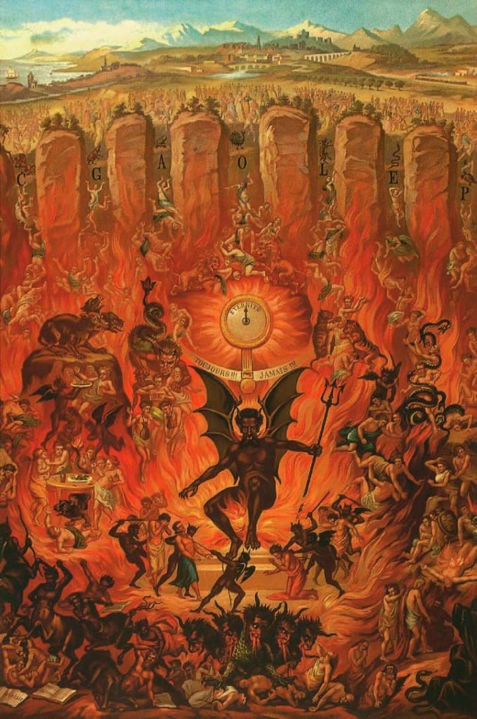 L'Enfer et les sept péchés capitaux, paru dans « La Bonne Presse », L'Art du Diable, Satan