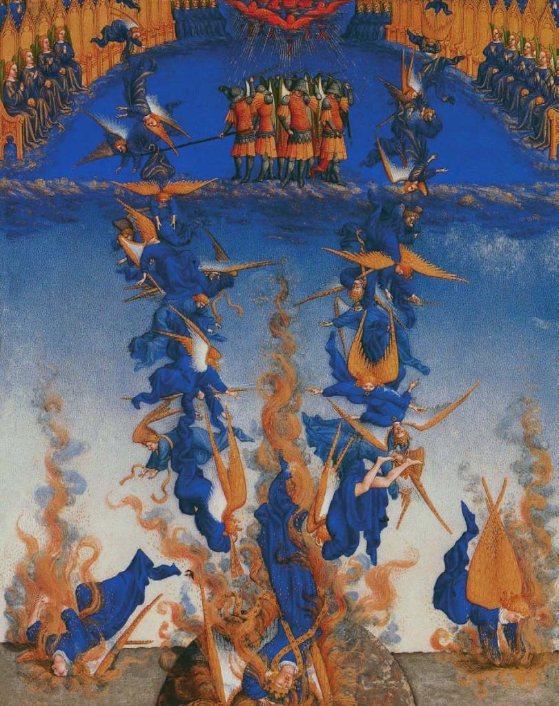 Der Sturz und das Gericht Lucifers, Satan, Beelzebub, Luzifer - Der Teufel in der Kunst, Arturo Graf