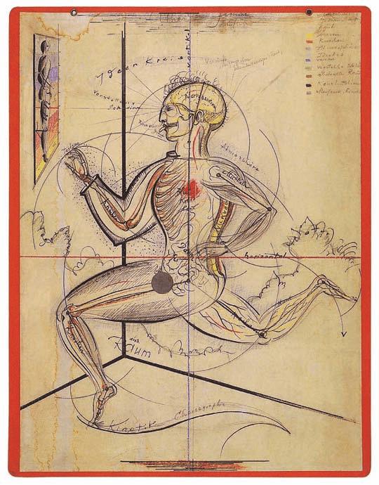 Oskar Schlemmer, Man in the Circle of Ideas, Bauhaus, Michael Siebenbrodt, Lutz Schöbe