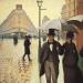 A Paris Street in the Rain, 1877