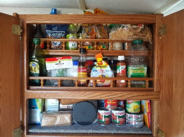 The food cupboard (in Mexico)