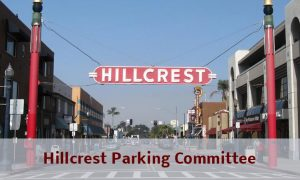 Hillcrest Parking Committee Special Meeting
