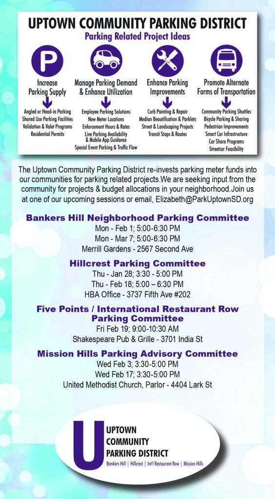 community input flyer