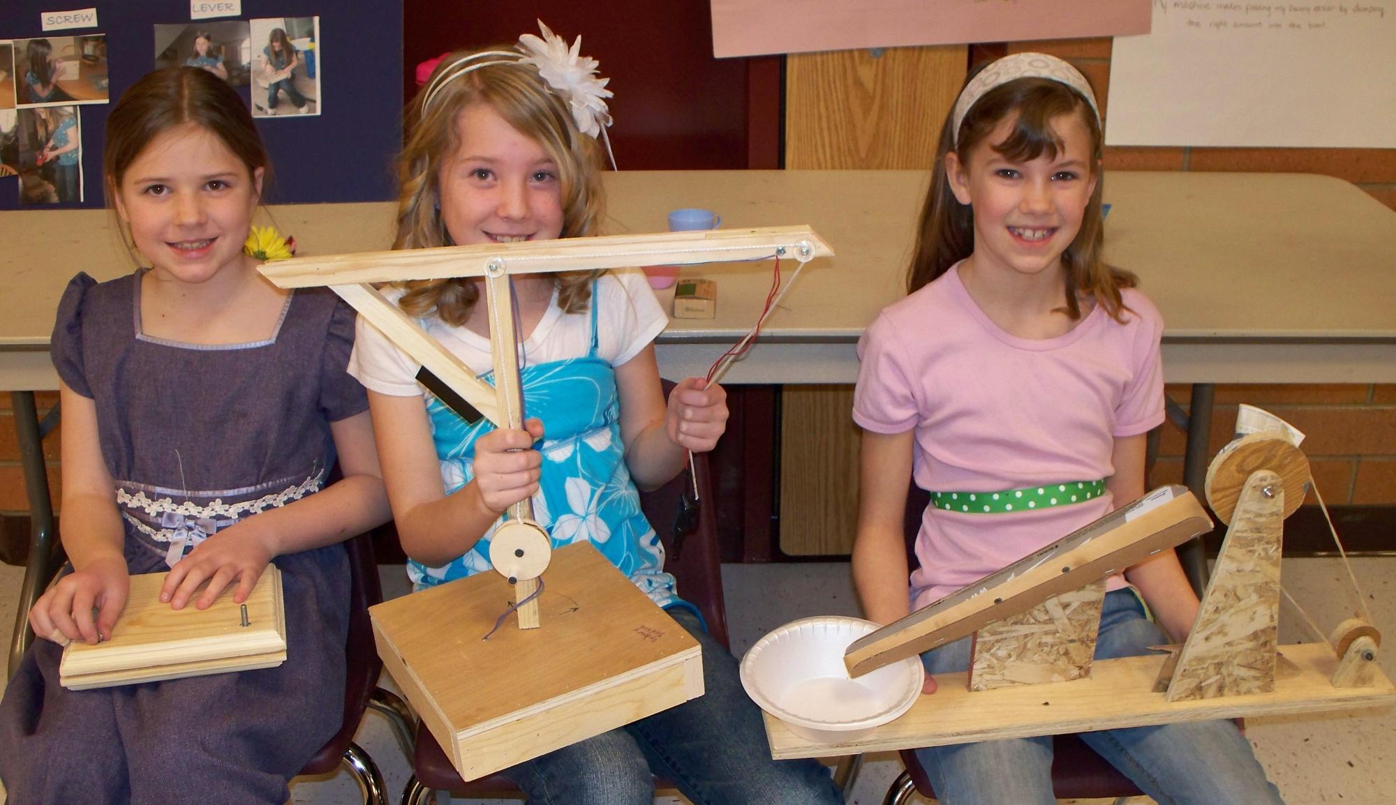 Third Grade Simple Machine Fair