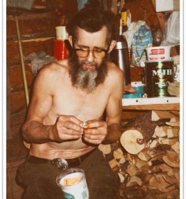 Trapper Bill McDermott, by John Niddrie for Warden Journals