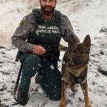 Banff National Park's latest Warden dogmaster …