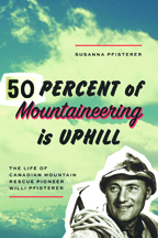 Fifty Percent of Mountaineering Is Uphill by Susanna Pfisterer