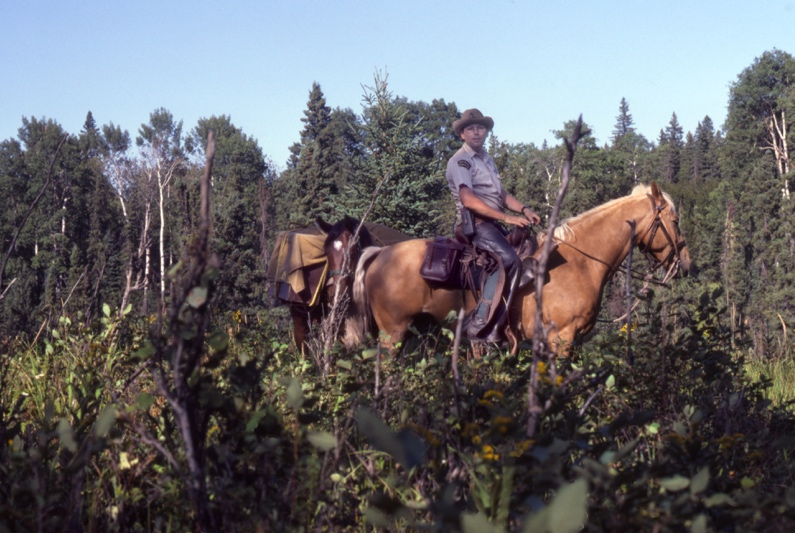 Riding Mountain National Park_Ochre River trail_1983_ Bill Dolan