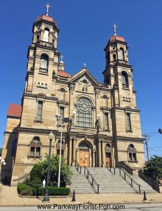 St Peter Catholic Church Exterior Steubenville OH