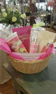 Basket for sale at Sandy's Hair, Skin, Gifts, and Nails in Burnsville!