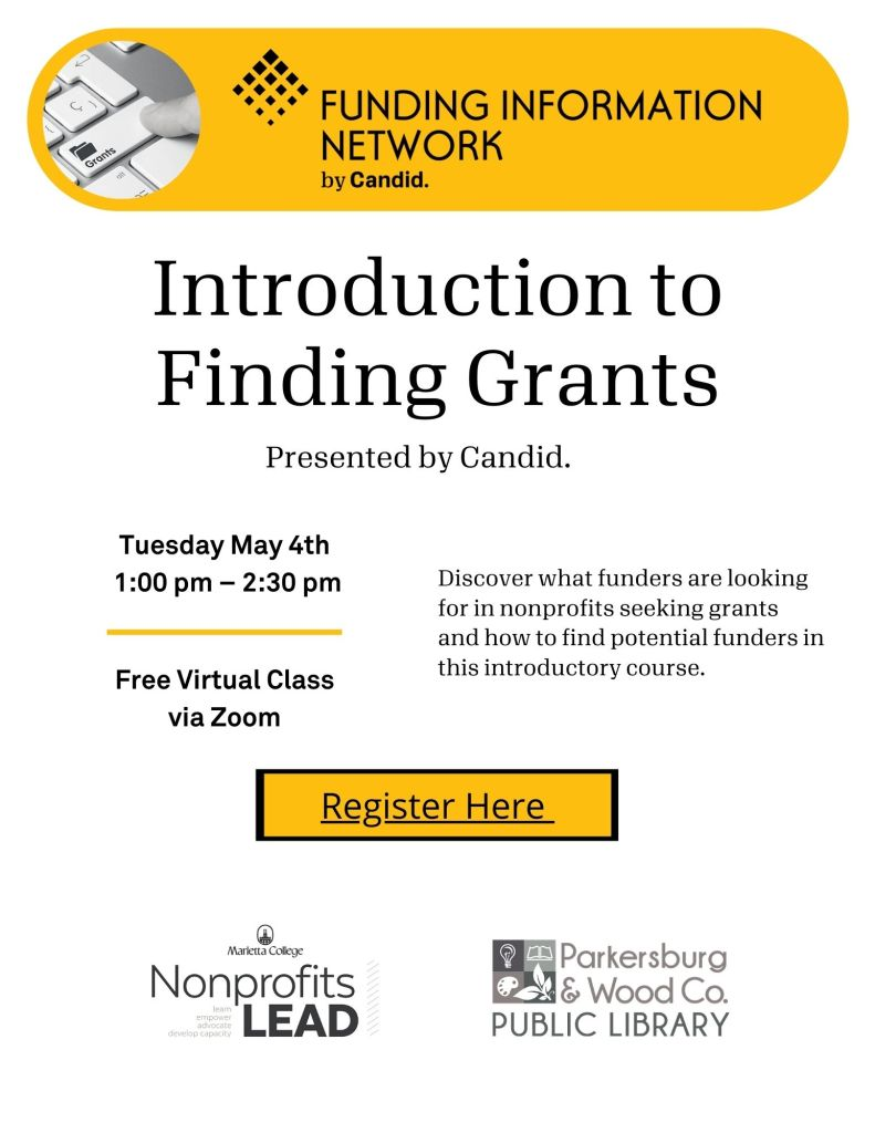 Introduction to Finding Grants Free Webinar