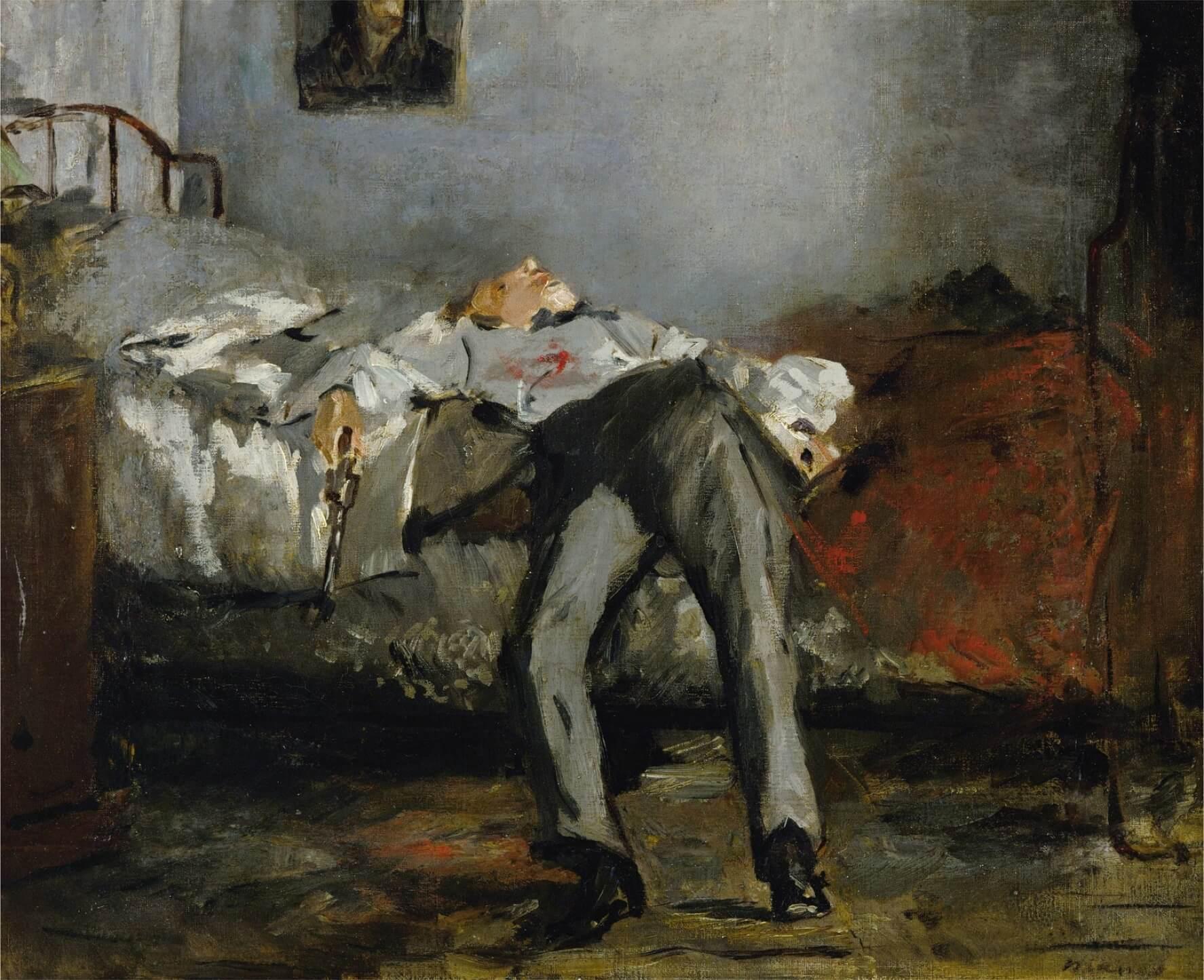 intihar Édouard Manet