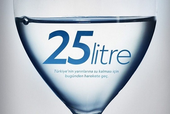 25 litre su