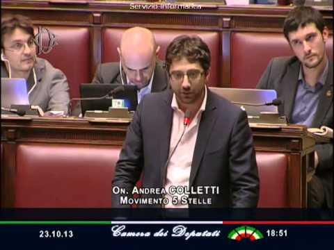 #Cancellieridimettiti: la dichiarazione di voto di Andrea Colletti (video)
