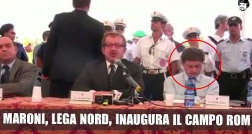 Il video che sbugiarda Salvini: la Lega inaugura il piano nomadi di Alemanno
