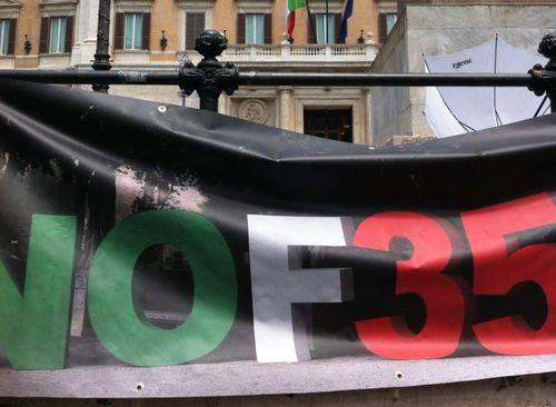 Dietro gli F35, c'è una crisi pilotata come in Grecia?