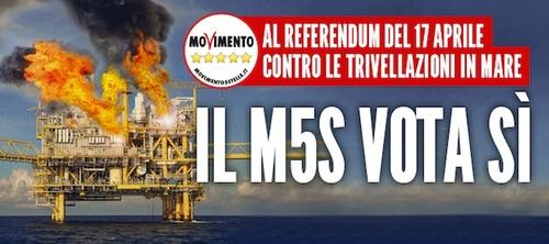 #Referendum17Aprile: ecco i materiali M5S da scaricare e diffondere