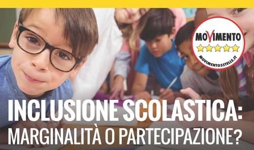 Inclusione scolastica: il 23 maggio a Roma il convegno M5S