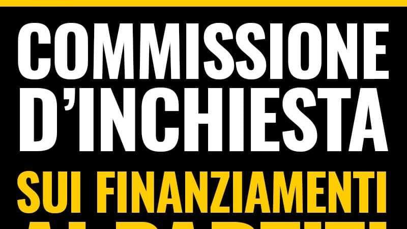 Partiti: Lega voti con noi per Commissione su ultimi 20 anni. Restituiamo trasparenza ai cittadini