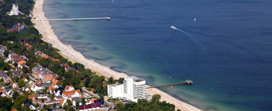 Playa Timmendorfer, un gran atractivo