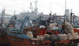 la industria pesquera fue afectada por la crisis