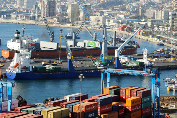 Puertos chilenos Valparaíso