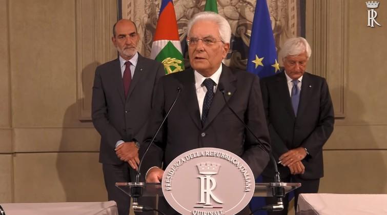 """MATTARELLA """"SERVE GOVERNO CON I VOTI O ELEZIONI ANTICIPATE"""" - PARLAMENTONEWS"""