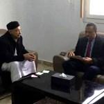 رئيس مجدلس النواب مع رئيس الحكومة المؤقتة
