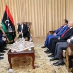 فخامة رئيس مجلس النواب يستقبل وزير الخارجية البريطاني بمدينة طبرق
