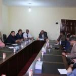 معالي رئيس ديوان مجلس النواب يجتمع بمدراء الإدارات والمكاتب بالديوان