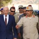 رئيس مجلس النواب ورئيس الاركان الليبي
