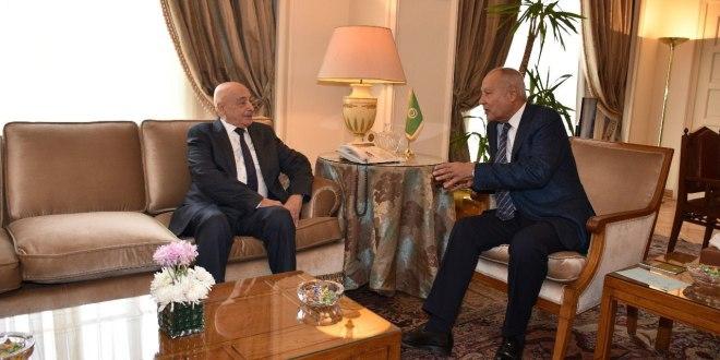 فخامة رئيس مجلس النواب يلتقي معالي الأمين العام لجامعة الدول العربية