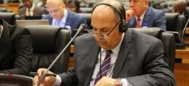 معالي رئيس ديوان مجلس النواب يشارك في أعمال الأمانة العامة للبرلمان الافريقي