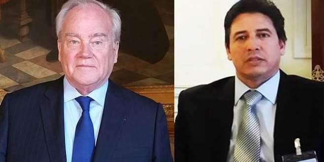 رئيس لجنة الشؤون الخارجية بمجلس النواب الليبي يتلقى رسالة رسمية من نظيره رئيس لجنة الخارجية والدفاع بمجلس الشيوخ الفرنسي