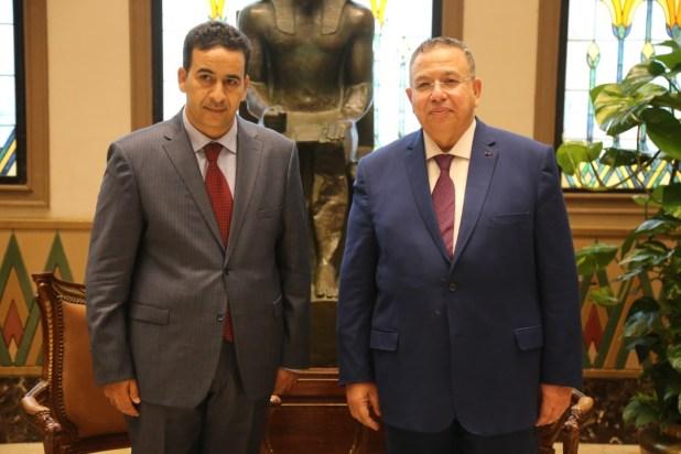 لقاء أعضاء مجلس النواب بالبرلمان المصري 19 أكتوبر 2019. م