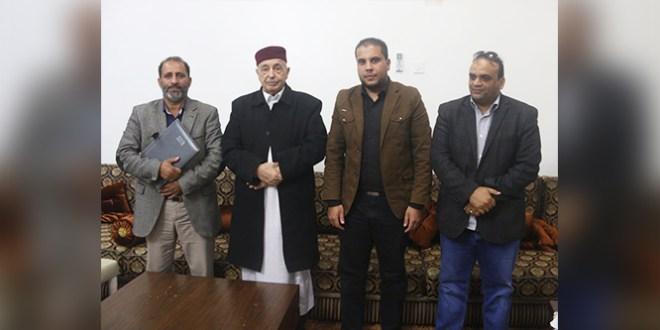 فخامة رئيس مجلس النواب يبحث احتياجات بلدية القيقب