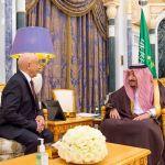 رئيس مجلس النواب والملك سلمان